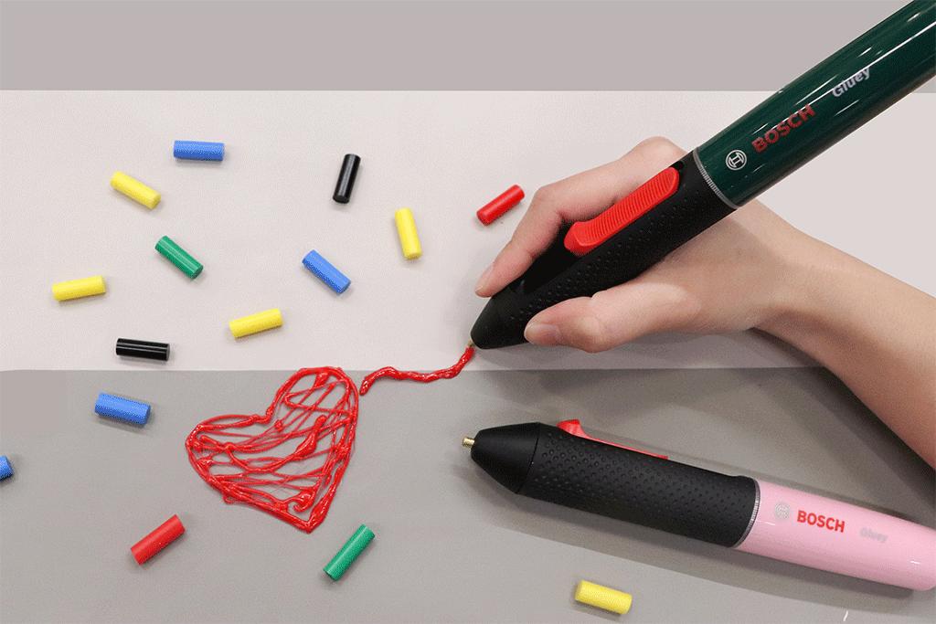 スマートなペン型グルーガン「Gluey(グルーイ)」体験会