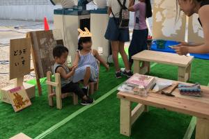 DIY×ハウスメーカー 出張ワークショップ with 野村工務店03