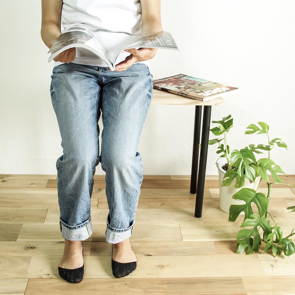 家具用丸脚 黒 Φ30×500(mm) 1本入