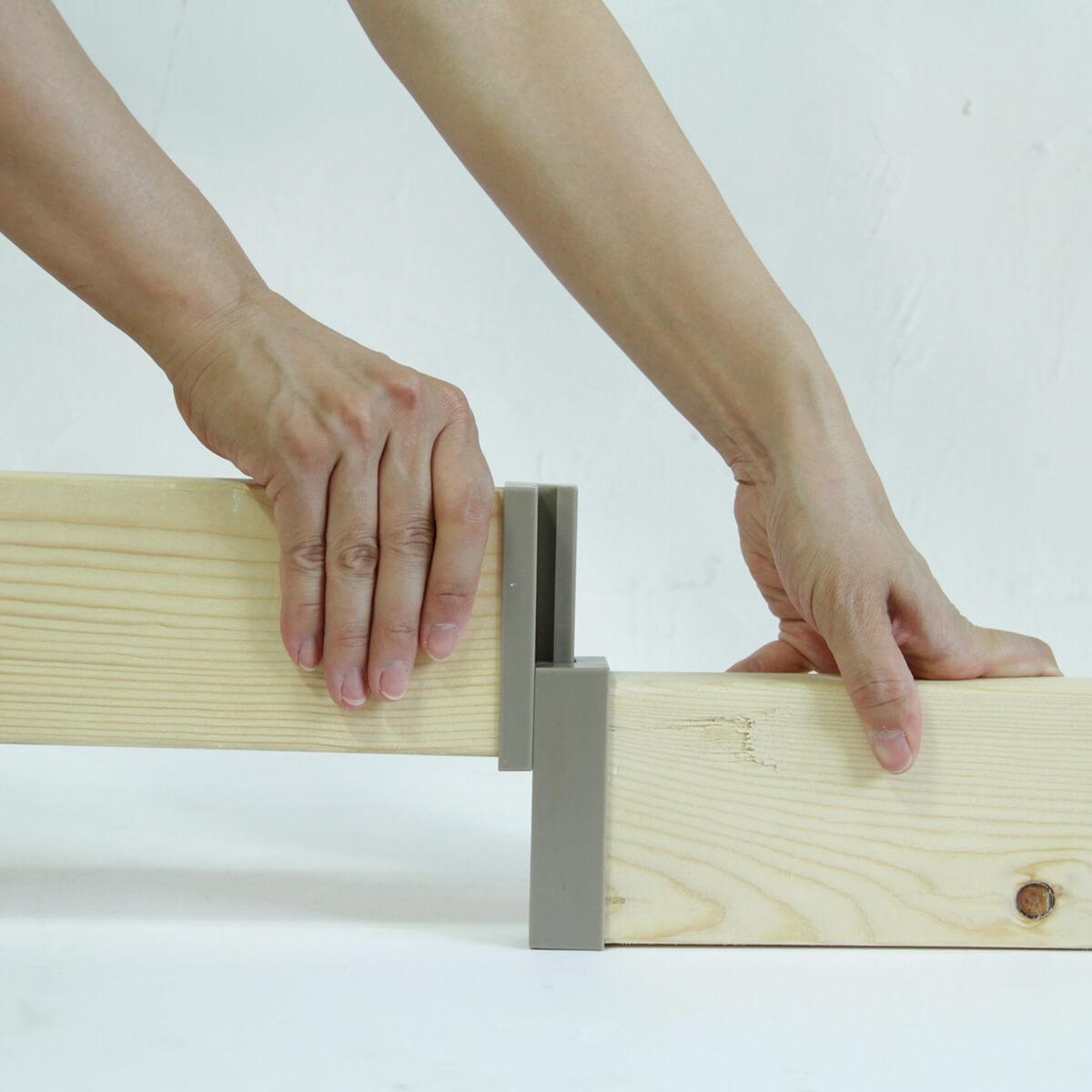 ラブリコ 2×4材用ジョイント オフホワイト