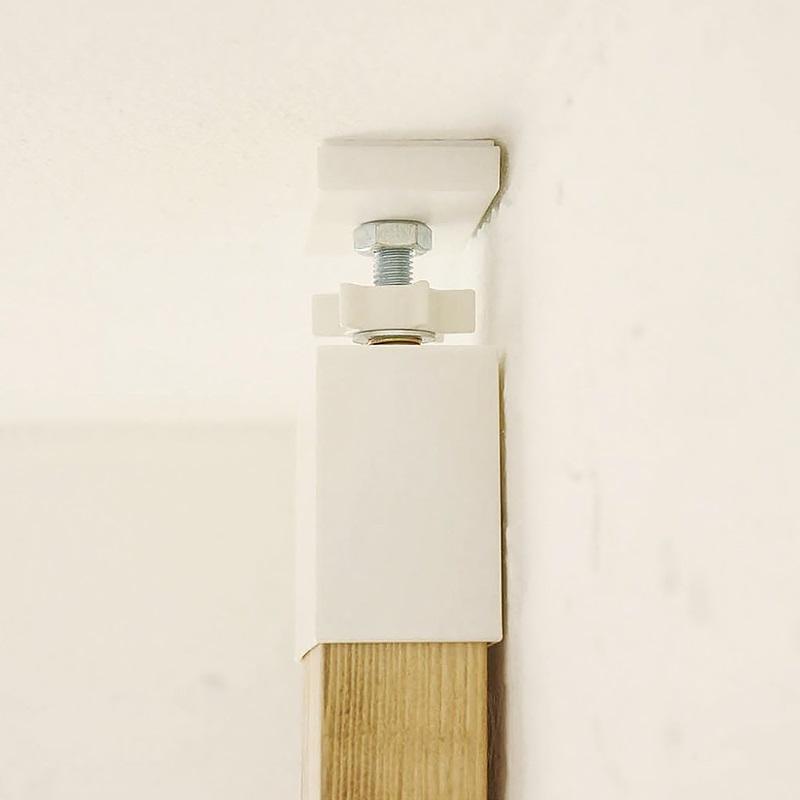 ラブリコ 2×4材用アジャスター マットブラック