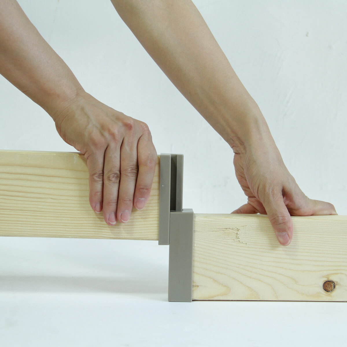 ラブリコ 2×4材用ジョイント マットブラック