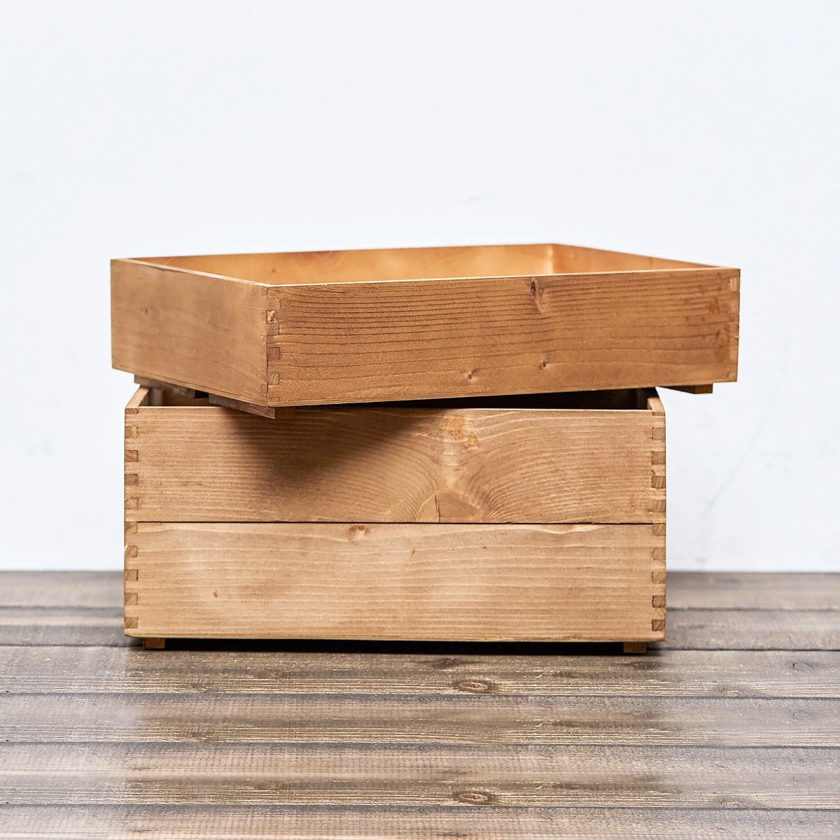 木箱 KIBAKO LL 370x260x168(mm) 1個