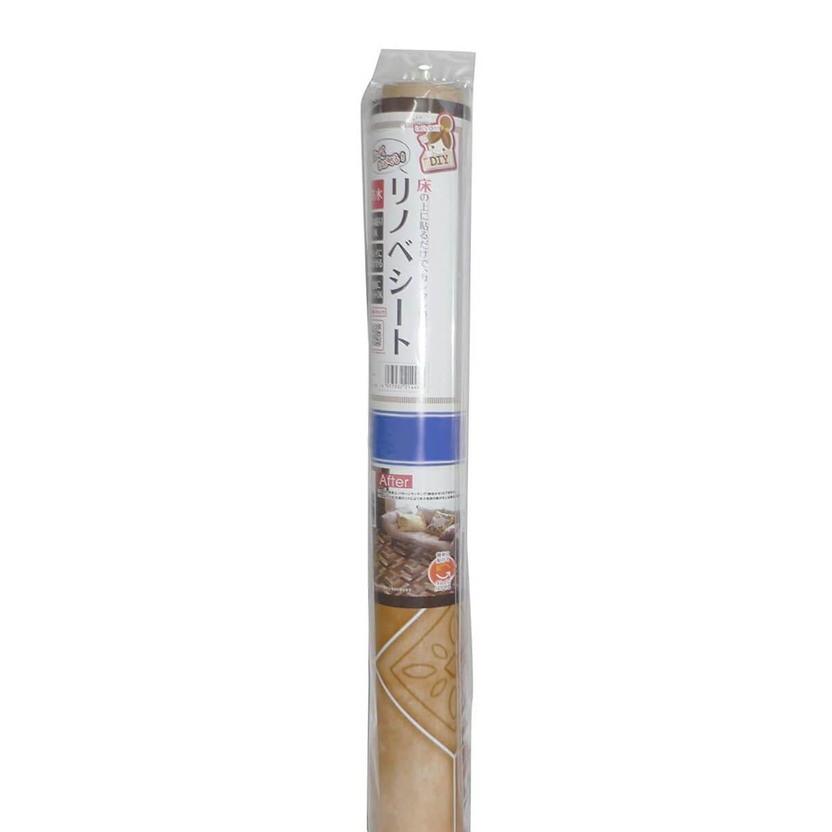 貼ってはがせる塩ビフロアシート テラコッタ 450×2400(mm)