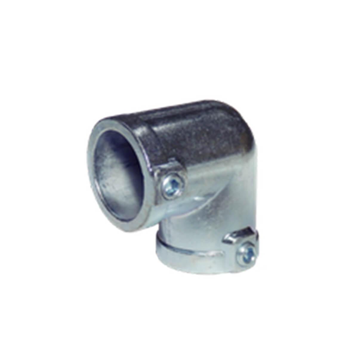 パイプクランパー L型 シルバー Φ25.4 DIY-ID