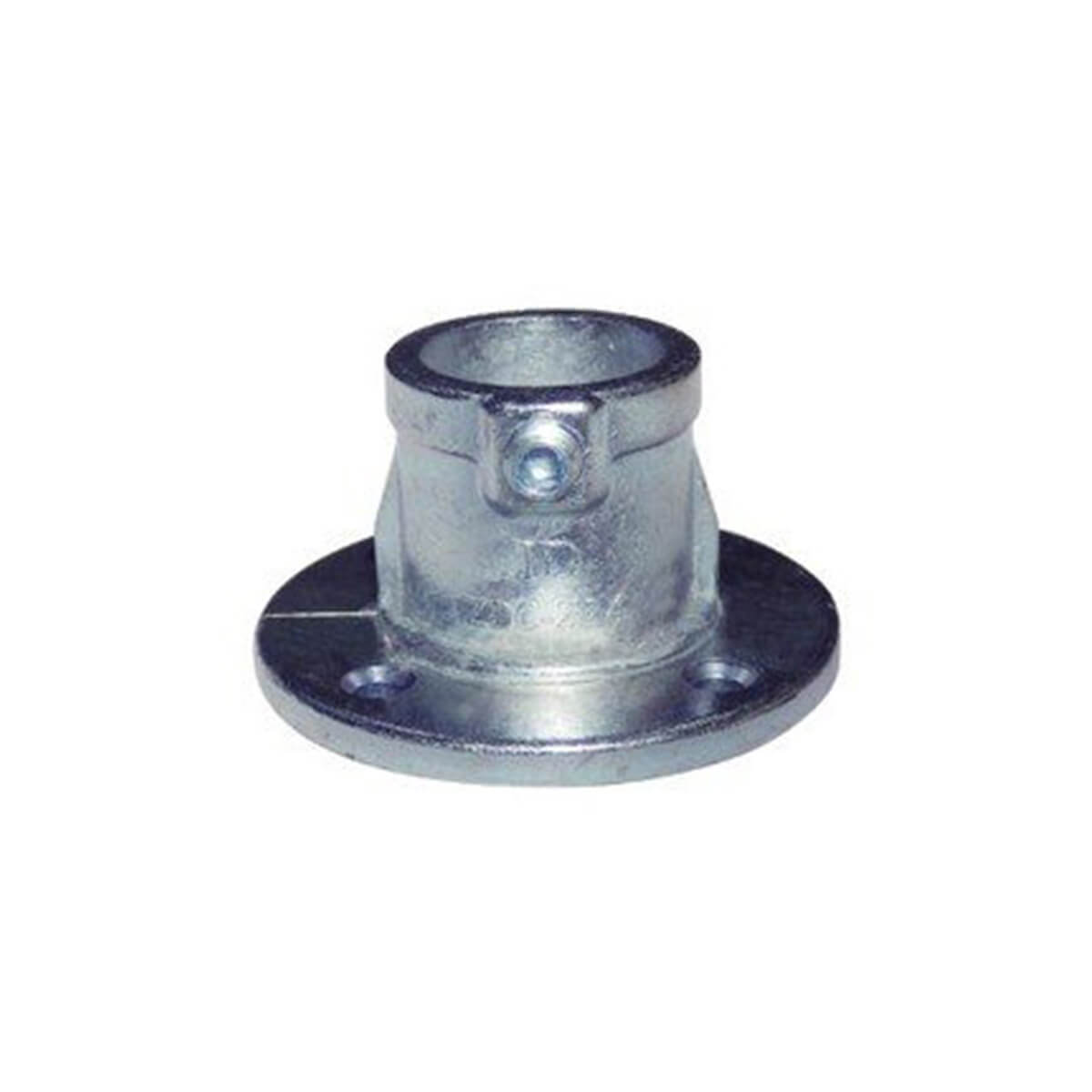 パイプクランパー ベース シルバー Φ25.4 DIY-ID