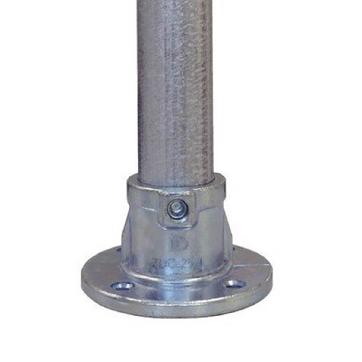 パイプクランパー ベース 黒 Φ25.4 DIY-ID