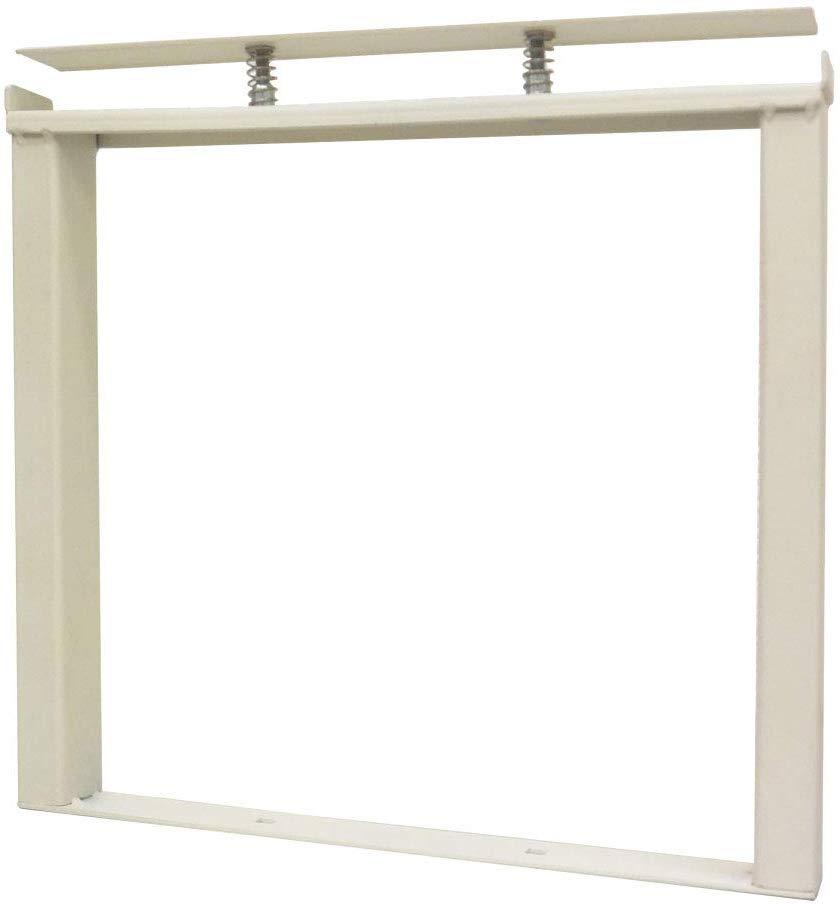 ラック用脚金具 基本セット250 オフホワイト 1個入 クランプスシェルフ DIY-ID