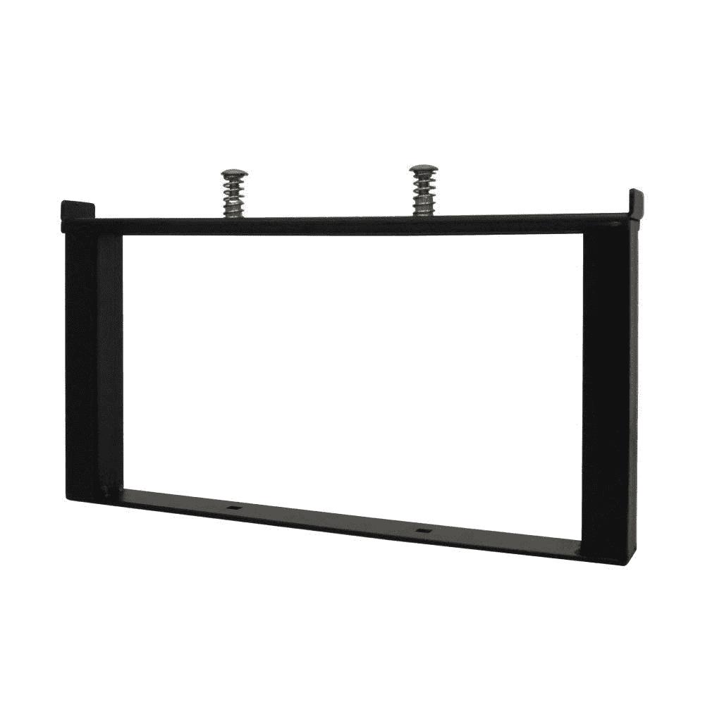 ラック用脚金具 増段セット150 ブラック 1個入 クランプスシェルフ DIY-ID