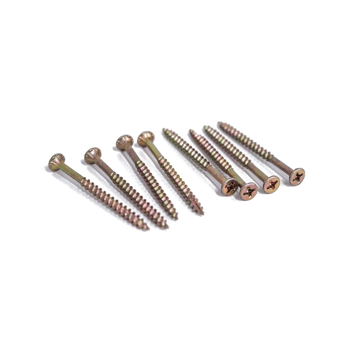 木工用ビス 軸細コーススレッド 3.3×50(mm) 7本入×5セット