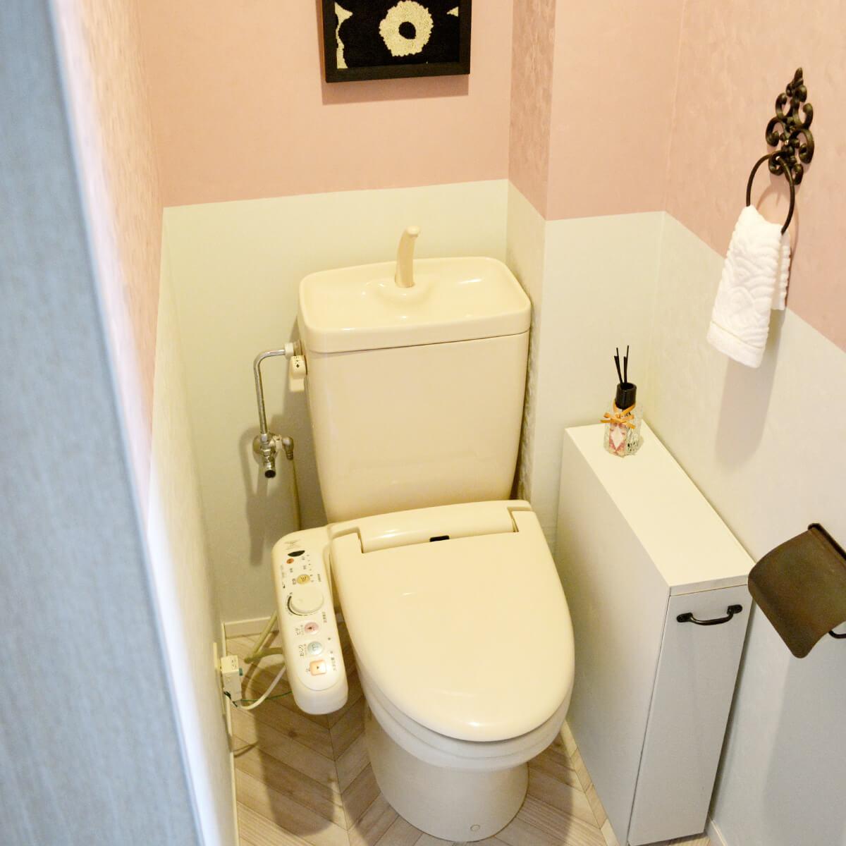 ポジティブになれる、ときめくトイレ空間