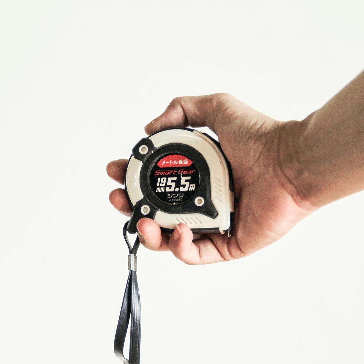 コンベックス 19mm×5.5m スマートギア