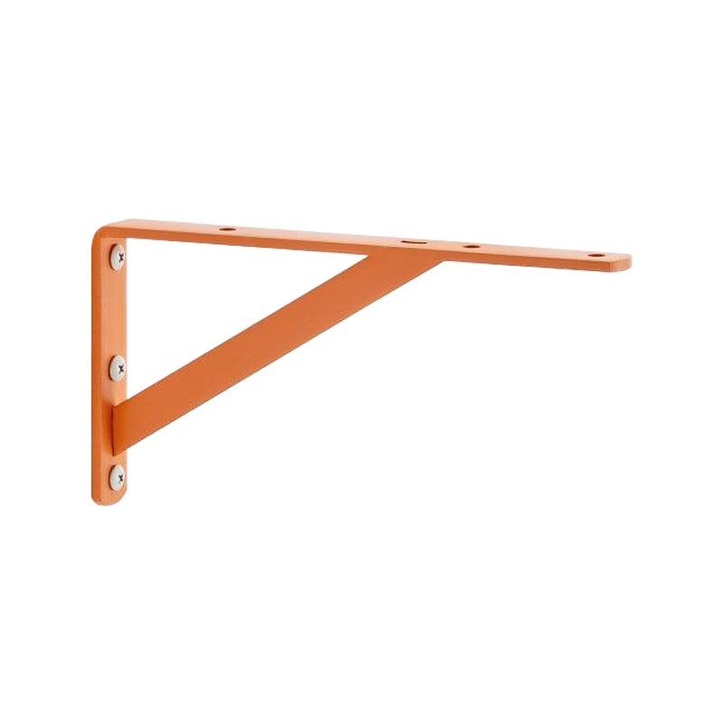 TANNER アイアン棚受け Bracket S  #02 オレンジ D195 H100 W20 1組(2本入)