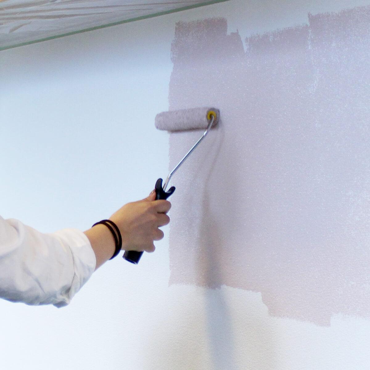 ミルクペイント 室内壁用塗料 スノードロップ 2L